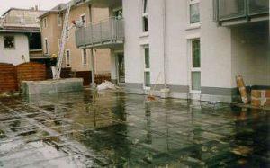 Dachbegruenung in Neustadt Sachsen vor Beginn der Arbeiten