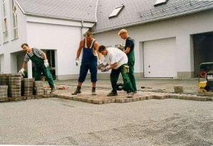 Verlegen von Betonpflaster in Bautzen