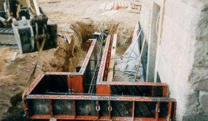 Fundamentarbeiten in Dresden